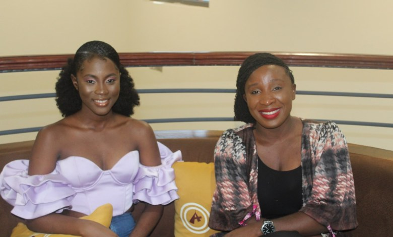 """Cina Soul with Naa Ashorker of Asaase Radio's """"Between Hours"""