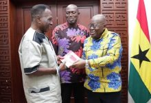 D K Poison meets Akufo-Addo