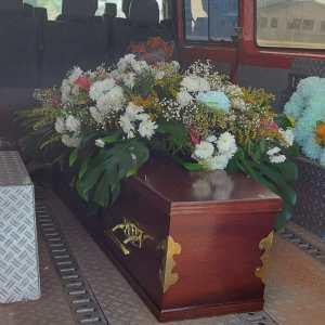 Remains of Adamu Daramani Sakande arrive in Tamale, 29.10.2020