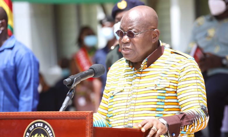 President Akufo-Addo talks pension reform at TUC ceremony