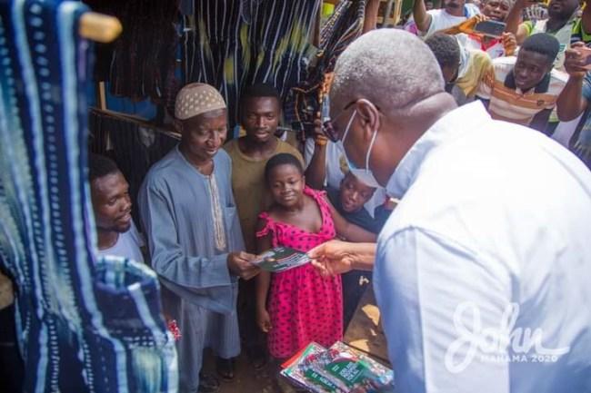 Mahama on NDC door-to-door campaign, Election 2020