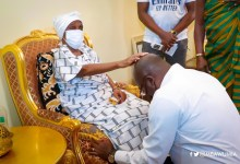 Asantehemaa blesses Vice-President Mahamudu Bawumia