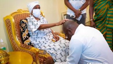"Photo of ""You will go far"" – Asantehemaa blesses Bawumia"