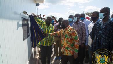 President Akufo-Addo commissions the Lawra solar power plant
