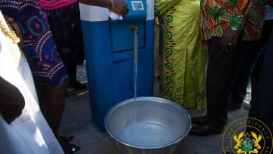 Photo of Potable water reaches 13,920 people in Hamile-Happa with GHC5.1 million water project
