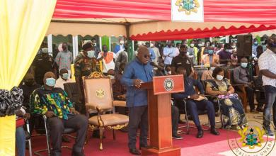 Photo of Perpetrators of violence have no election message – President Akufo-Addo