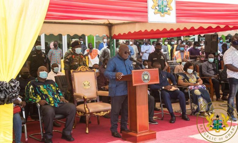 Akufo-Addo tours Greater Accra Region