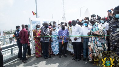Photo of Akufo-Addo commissions phase one of Obetsebi Lamptey Interchange