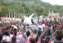 Photo of No 'skirt and blouse' voting, Akufo-Addo tells supporters