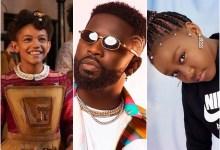 Diana (L), Bisa Kdei(M), Princess K (R) making Ghanaians proud in the new NetFlix film, Jingle Jangle. Photo: Opera News/Ghanamusic.com/PrincessKofiicial Instagram