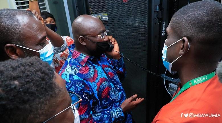 Dr. Mahamudu Bawumia commissions Free Wi-Fi project