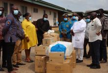 Photo of NPA donates medical supplies to Ho gas explosion victims