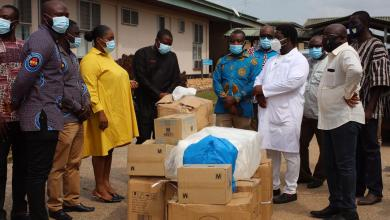 Photo of NPA donates medical supplies to Ho gas explosion victims