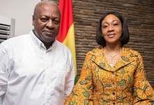 John Mahama of the NDC and EC boss, Jean Mensa