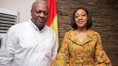 John Mahama of the NDC and EC boss, Jean Mensa