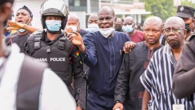 NDC MPs protest