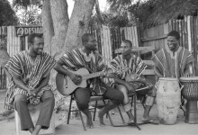 The four-member 'Kwan Pa Band'