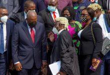 Mahama and his lawyers