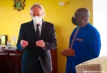 Tony Blair and Dr Mahamudu Bawumia