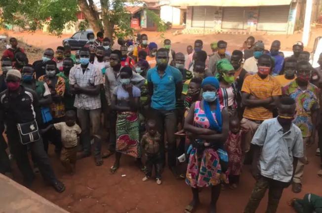 Arrest of illegal migrant at Bono East
