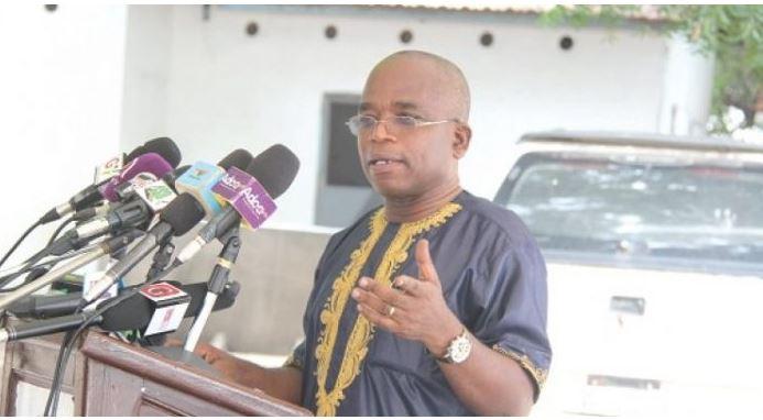 Chairman of NMC, Yaw Boadu-Ayeboafoh