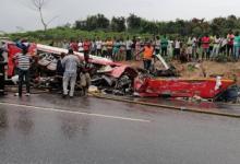 Road carnage and crash