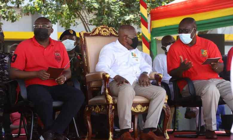 Akufo-Addo at May Day parade