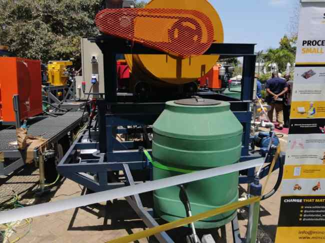Minerals Commission procures machines to help eliminate use of mercury in mining 2
