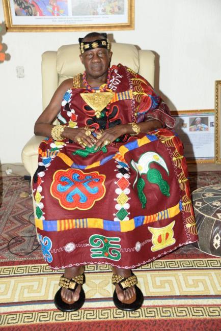 Daasebre Oti Boateng, Omanhene of New Juaben Traditional Area