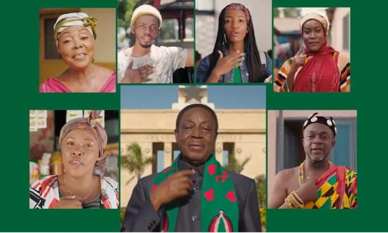 Kwabena Duffuor NDC membership drive video clip