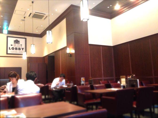 東京ロビーの店内席