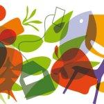 Illustration till mat och kultureventet GLUPSk på Dalsland