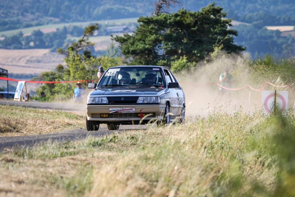Emmanuel CRISTOPH au rallye du Gap Racing