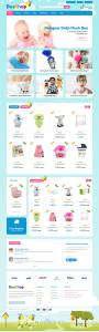 Bee Shop Ecommerce HTML Template