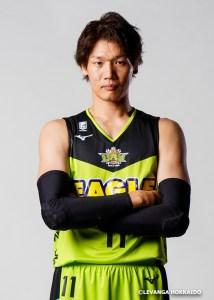 レバンガ北海道桜井選手
