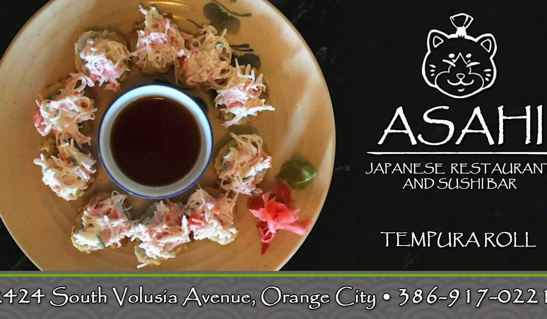 Try Our Tempura Rolls!