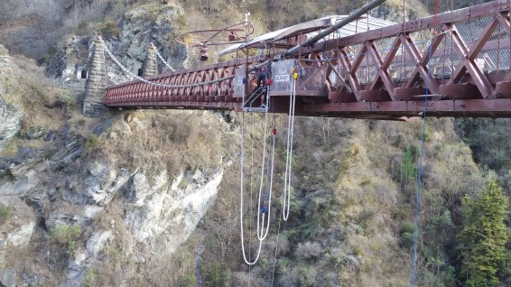 Bungy Jumping at Kawarau Bridge