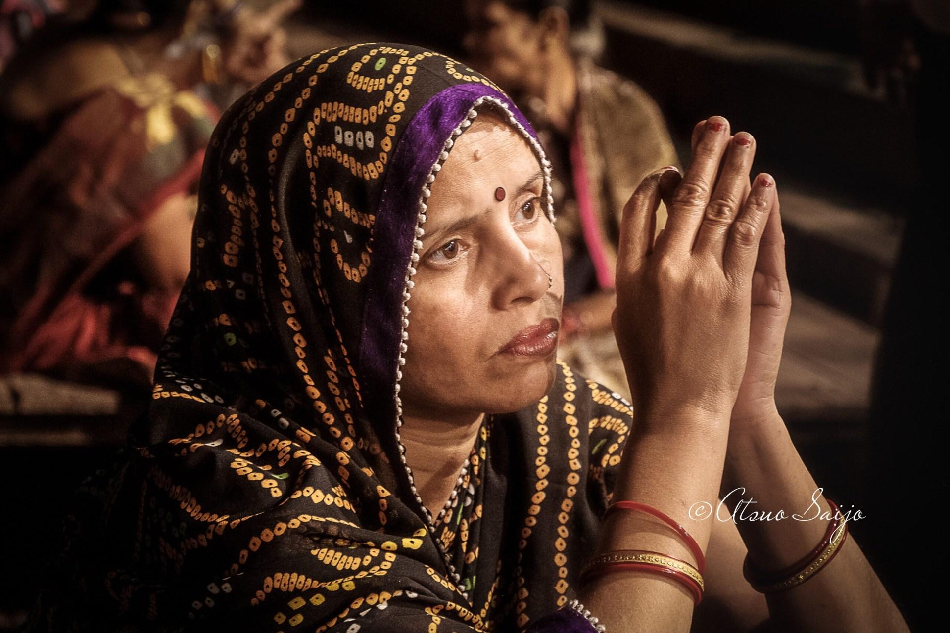 Puja in Varanasi