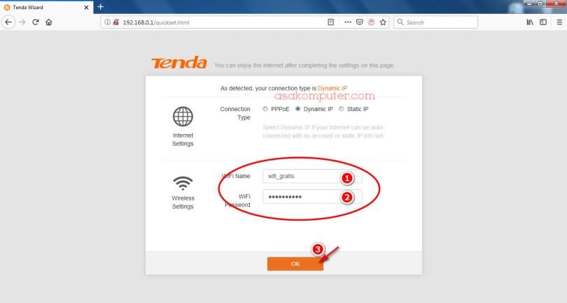 Cara Setting Wifi Router Tenda F3