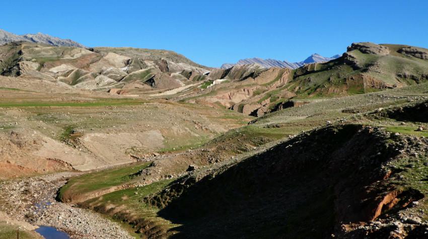 Lorestan - Tren a Dorud - Paisaje