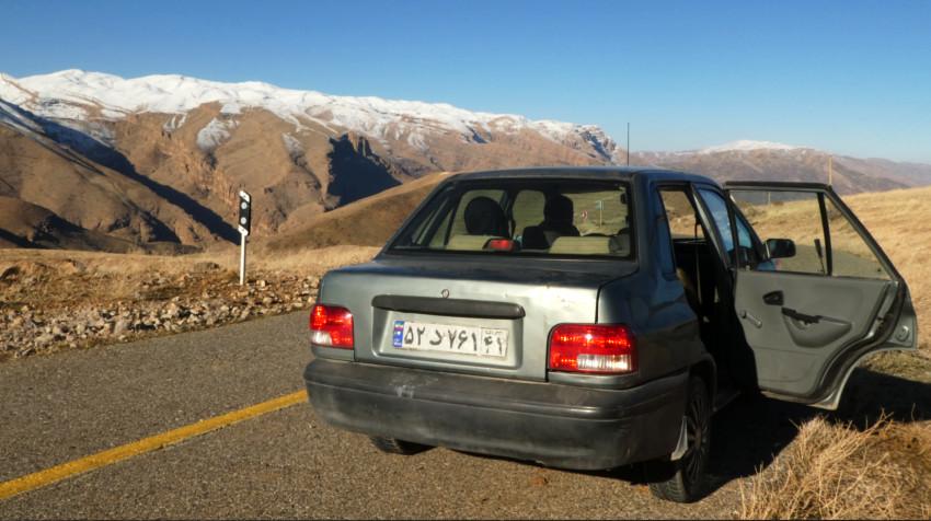 Taxi a Lago Gahar - Lorestan