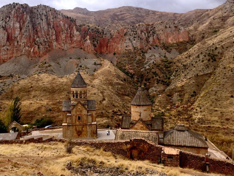 Monasterio de Noravank cerca de Yeghegnadzor