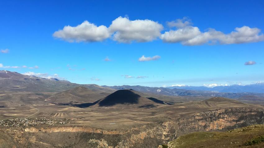 Vistas desde Petroskhach Trail