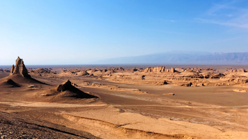 qué ver en Irán - Kaluts - Desierto de Lut - Provincia de Kerman