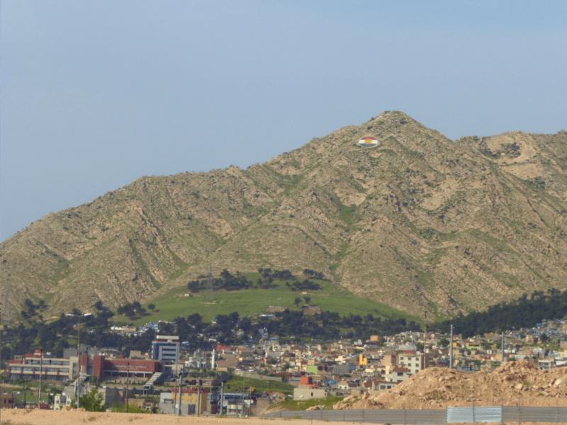 Montaña Duhok