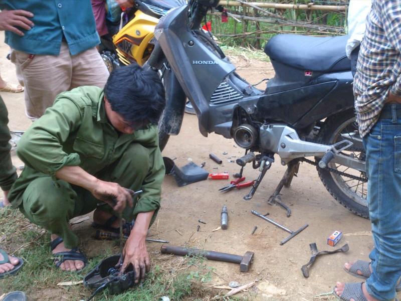 Moto vietnam - mecánico