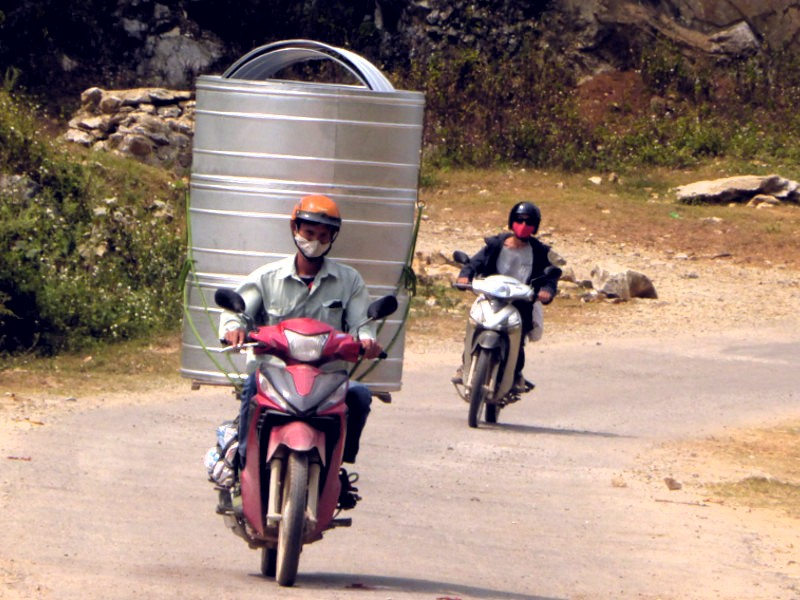 Moto vietnam - conduccion