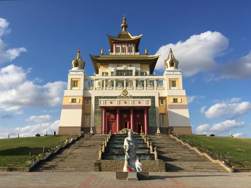 Templo budista Elistá Kalmukia