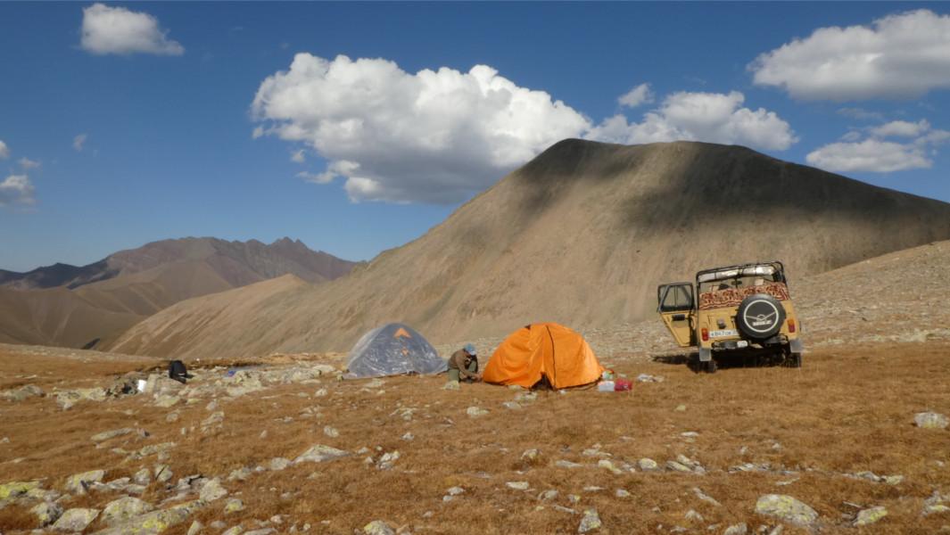 Trekking Caucaso Ruso - Teberda - Campamento