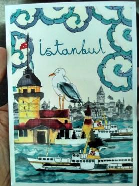 kartu pos Istanbul